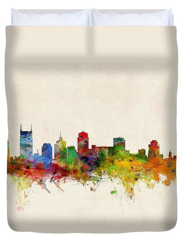 Nashville Skyline Duvet Covers