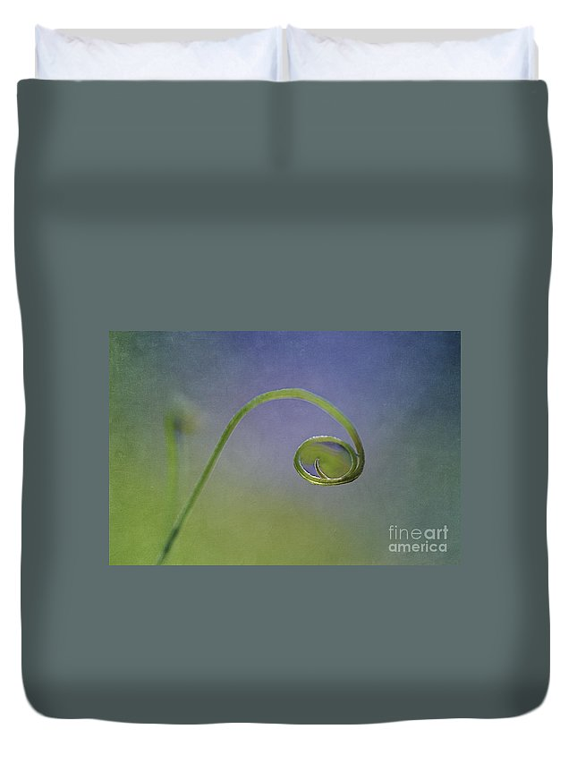Drop Duvet Cover featuring the photograph Natural Jewell by Maria Ismanah Schulze-Vorberg