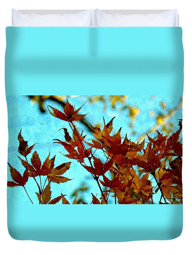Natural Duvet Cover featuring the photograph Natural Progression by Annie Adkins