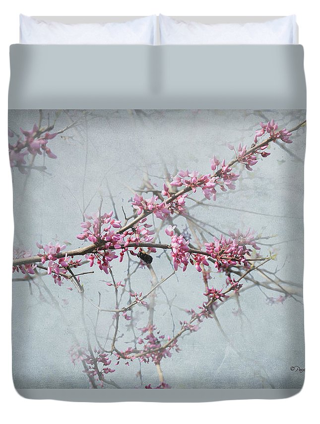 Popular Duvet Cover featuring the photograph Nature Nurtures by Paulette B Wright