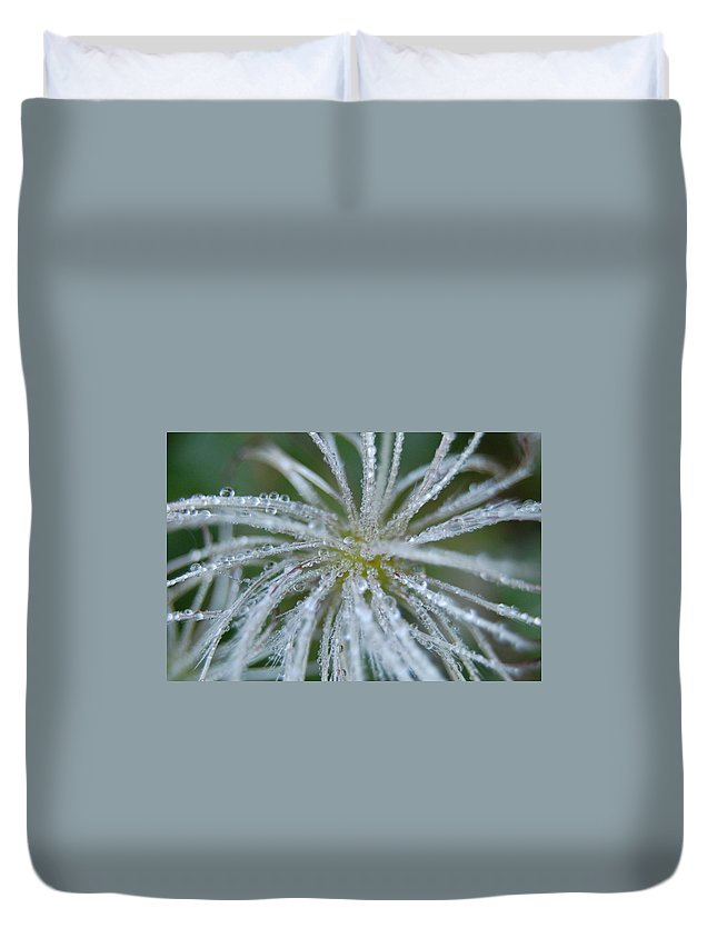 Water Duvet Cover featuring the photograph Nature's Beauty by Katherine Townsend