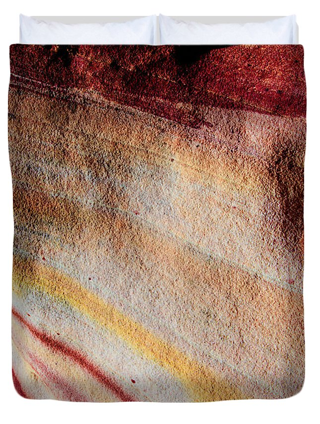 Valentine Duvet Cover featuring the photograph Nature's Valentine by Chad Dutson