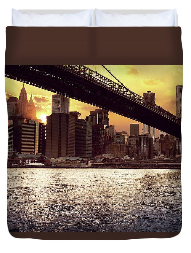 Tranquility Duvet Cover featuring the photograph New Beginnings by Aleks Ivic Visuals