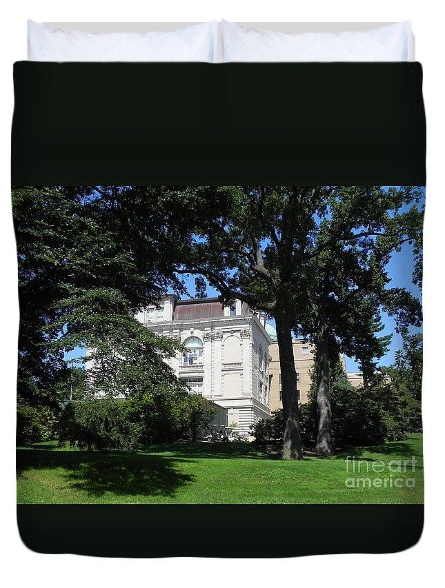 Photography Duvet Cover featuring the photograph New York Botanical Gardens by Chrisann Ellis