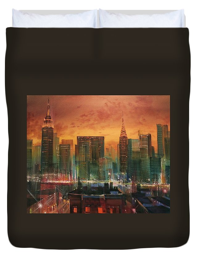 City Scene Duvet Covers
