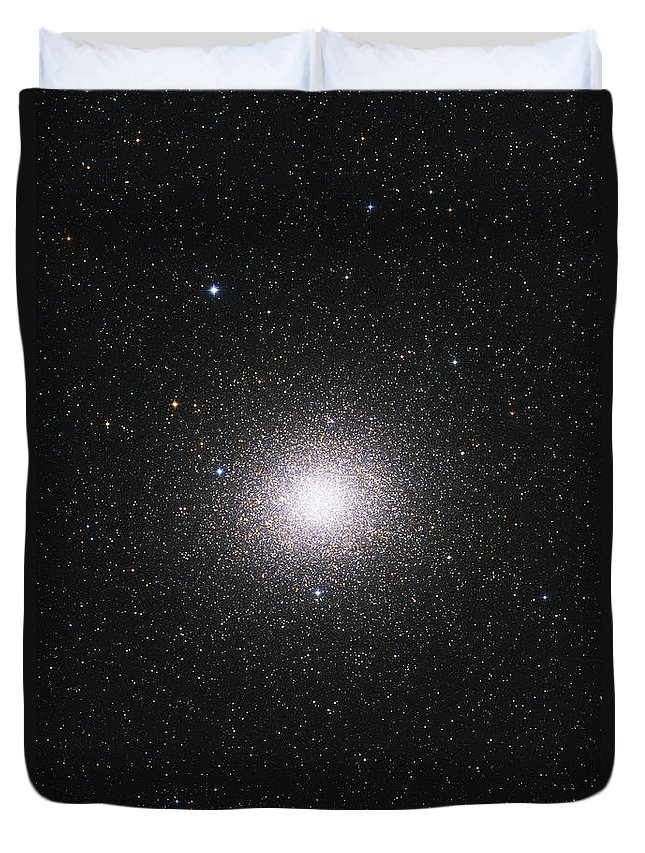 Vertical Duvet Cover featuring the photograph Ngc 5139, Omega Centauri Globular by Lorand Fenyes