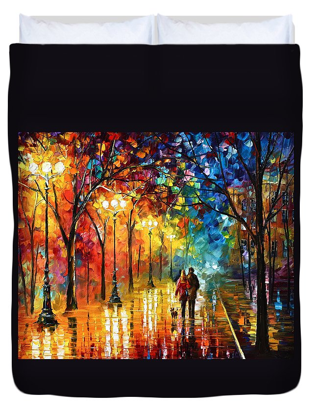 Afremov Duvet Covers