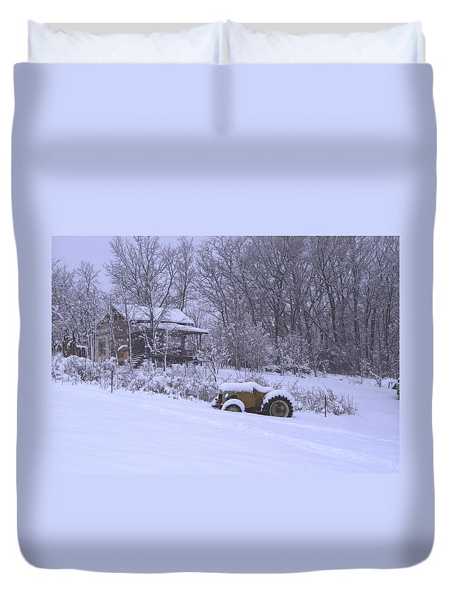 Photograph Duvet Cover featuring the photograph No Chores Today by Martin Bellmann
