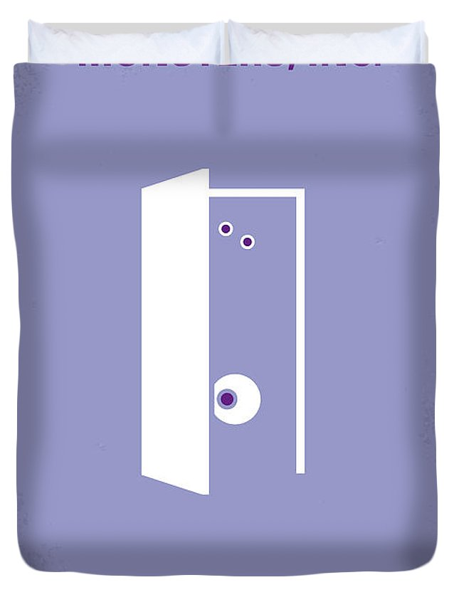 9c680fd45c2c Monster Duvet Cover featuring the digital art No161 My Monster Inc Minimal  Movie Poster by Chungkong