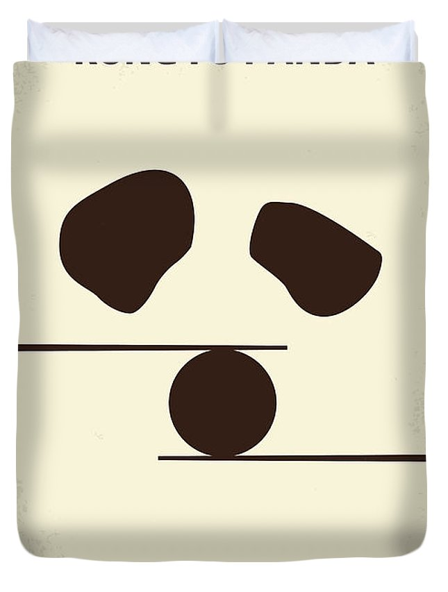 No227 My Kung Fu Panda Minimal Movie Poster Duvet Cover For Sale By Chungkong Art