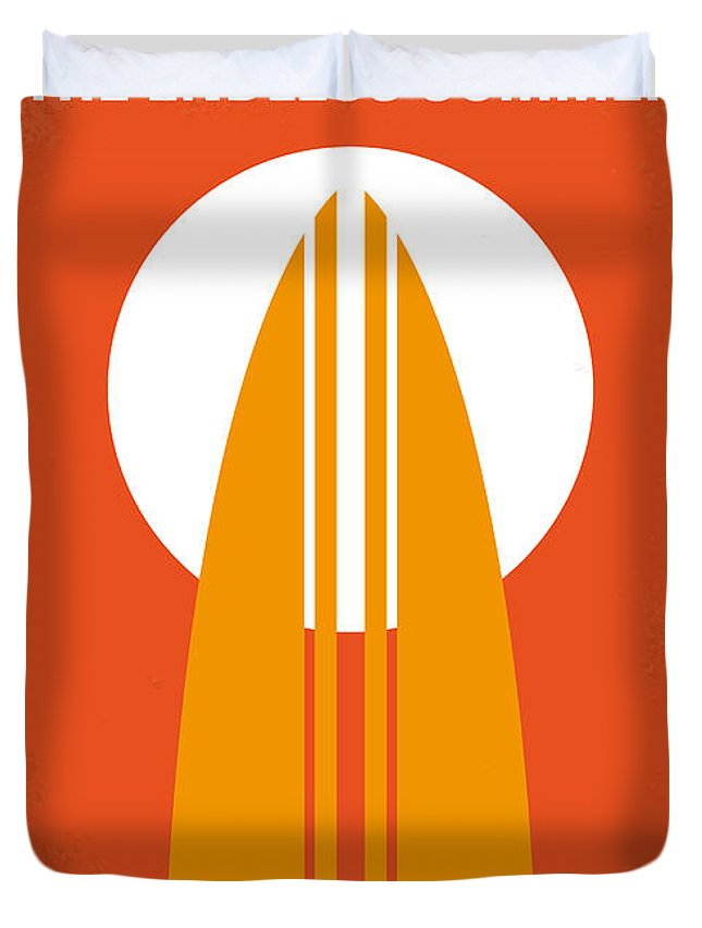 Endless Duvet Cover featuring the digital art No274 My The Endless Summer minimal movie poster by Chungkong Art