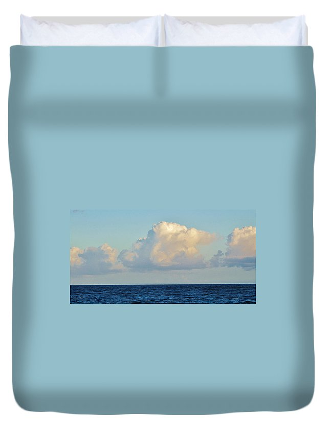 Ocean Duvet Cover featuring the photograph Noble by Ian MacDonald