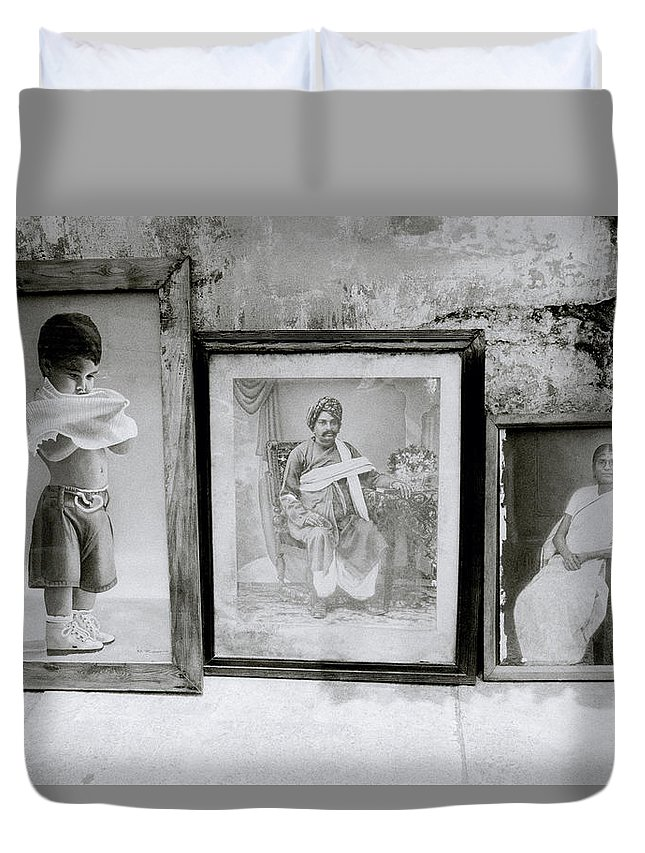 Still Life Duvet Cover featuring the photograph A Family History by Shaun Higson