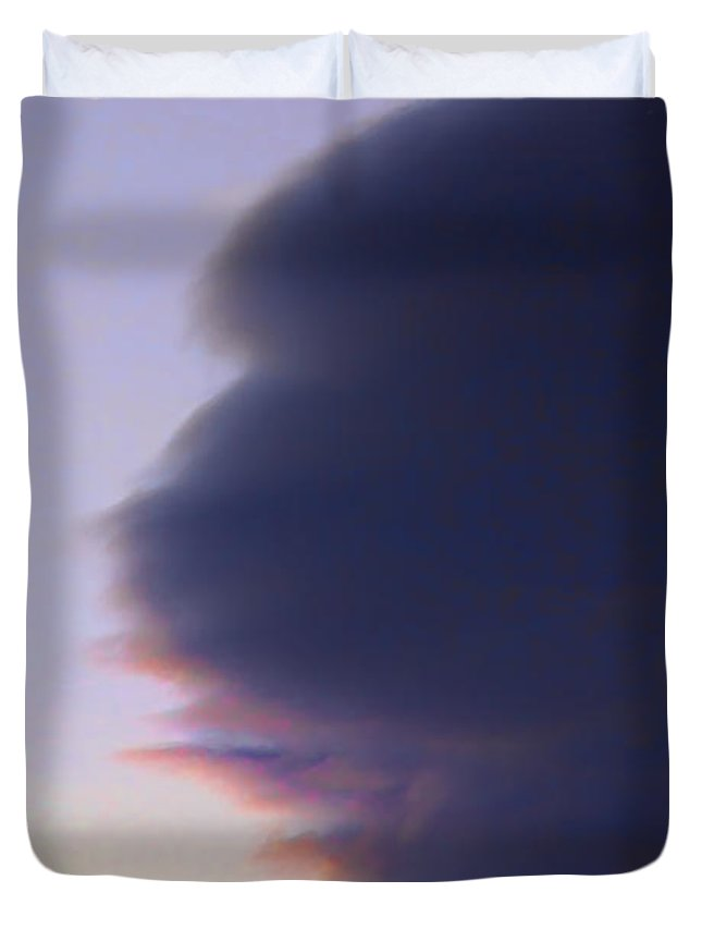 Sky Duvet Cover featuring the photograph November Clouds 003 by Agustin Uzarraga
