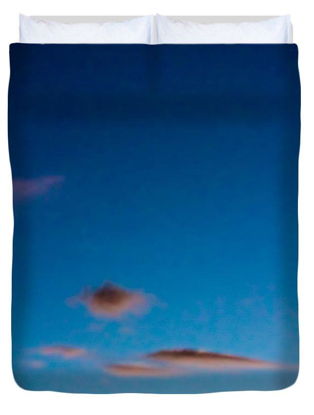 Sky Duvet Cover featuring the photograph November Clouds 011 by Agustin Uzarraga