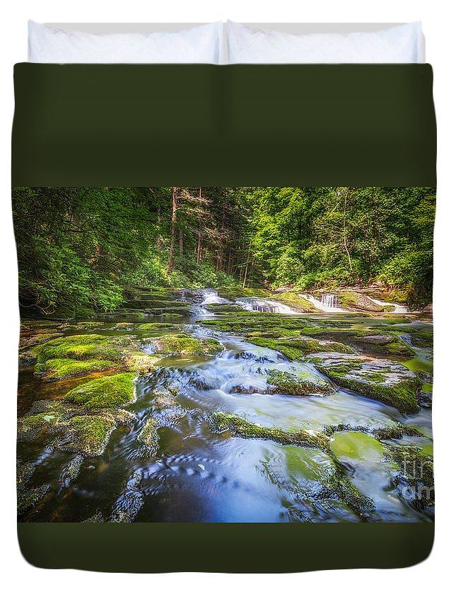 Off The Beaten Path Duvet Cover featuring the photograph Off The Beaten Path by Michael Ver Sprill