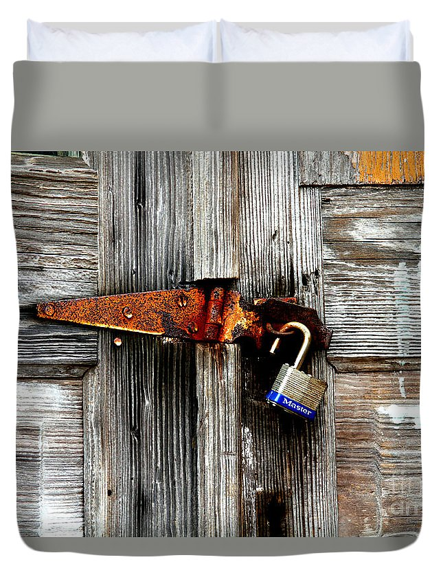 Barn Duvet Cover featuring the photograph Old And New By Diana Sainz by Diana Raquel Sainz