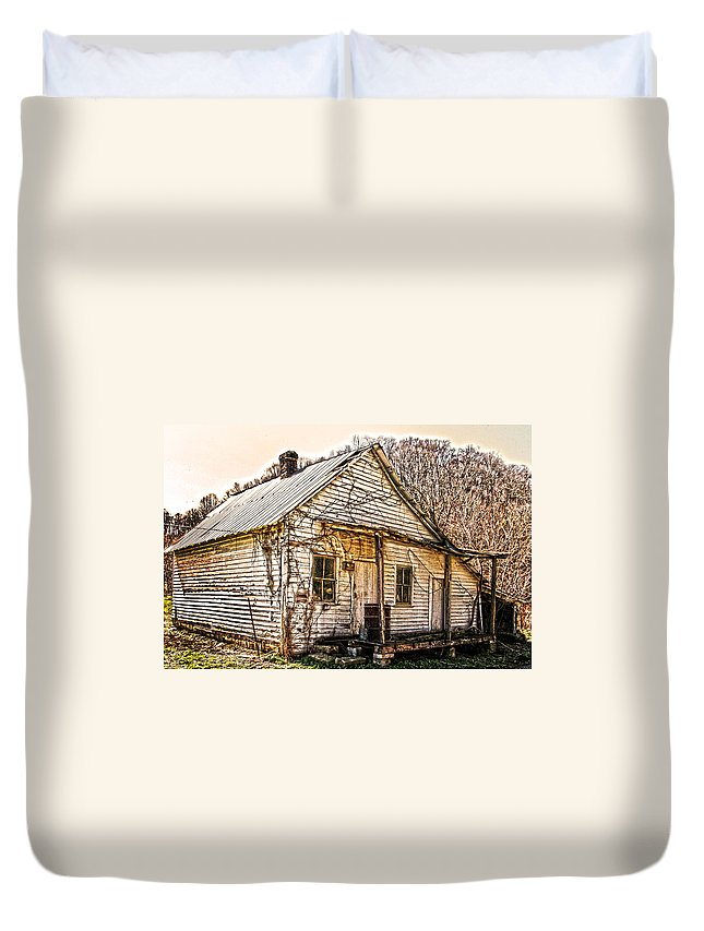 Old Store Duvet Cover featuring the photograph Old Kentucky Store Long Gone by Randall Branham