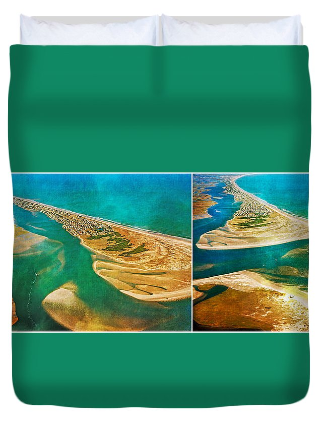 Topsail Duvet Cover featuring the photograph Old Style Topsail by Betsy Knapp