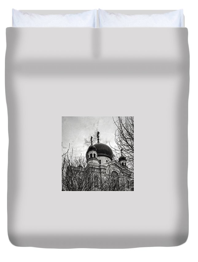 Orthodox Duvet Cover featuring the photograph Orthodox Church by H James Hoff