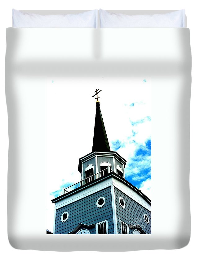 Alaska Duvet Cover featuring the photograph Orthodox by Joseph Yarbrough