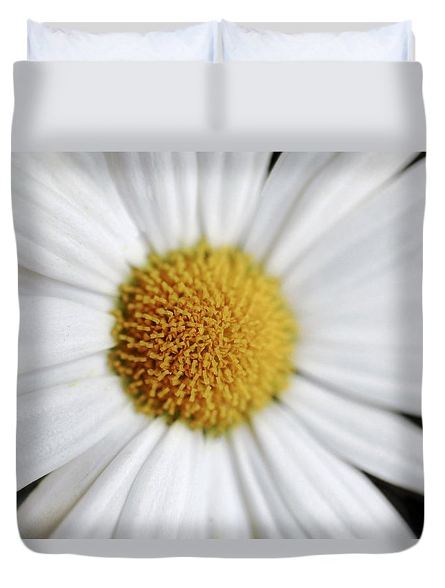 Floral Duvet Cover featuring the photograph Ourhero by Janice Bajek