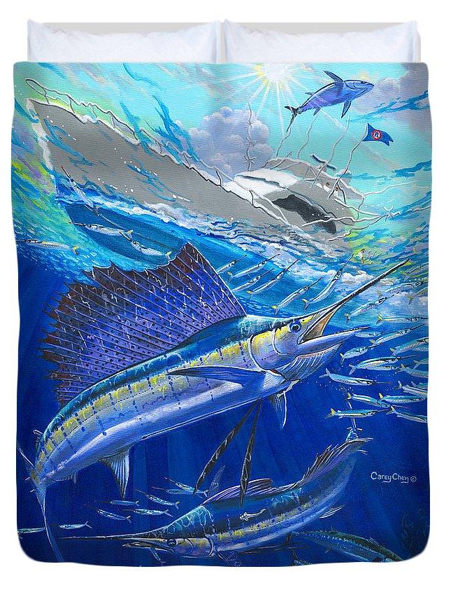 Spearfishing Duvet Covers
