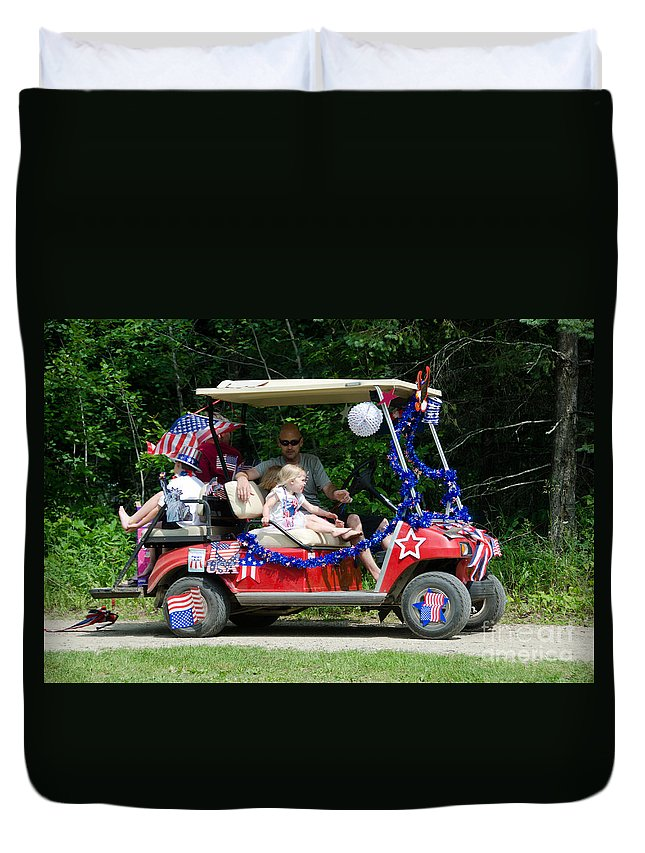 Ice Duvet Cover featuring the photograph Parade 2 by Cassie Marie Photography