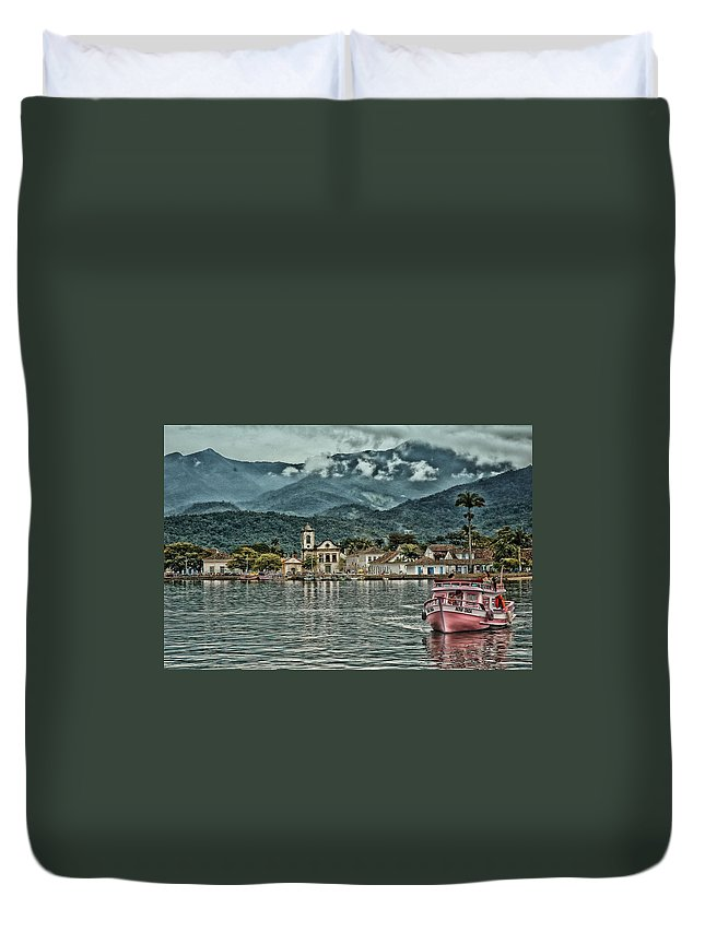 Historic City Duvet Cover featuring the photograph Paraty Bay II by Walcir Cardoso Jr