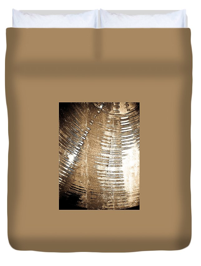 Abstract Duvet Cover featuring the digital art Passing By by Fei A