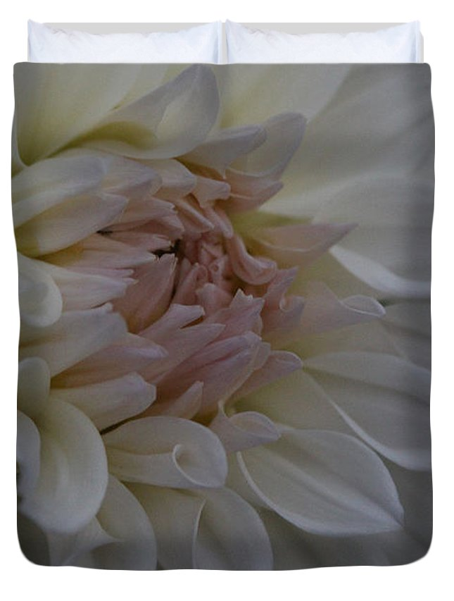 Flower Duvet Cover featuring the photograph Perfect Pink by Kathy DesJardins