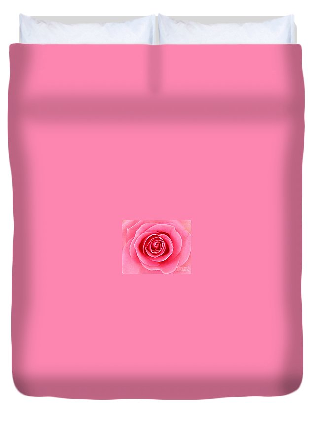 Perfect Rose Duvet Cover featuring the photograph Perfect Rose by Bev Conover