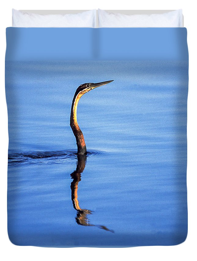 Africa Duvet Cover featuring the photograph Periscope View by Alistair Lyne