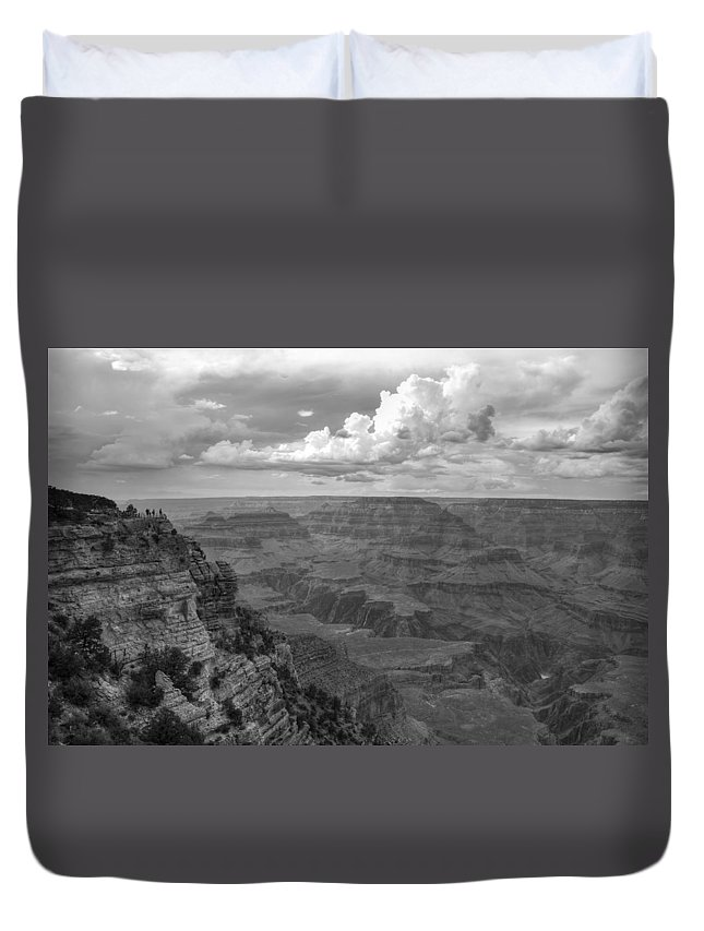 Grand Duvet Cover featuring the photograph Perspective V by Ricky Barnard