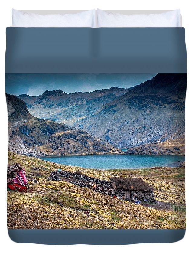 Peru Duvet Cover featuring the photograph Peru 65 by Mariusz Czajkowski