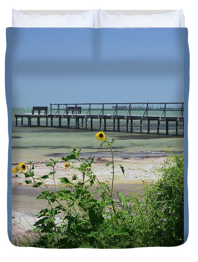Bible Duvet Cover featuring the photograph Piering Through Ll by Leticia Latocki