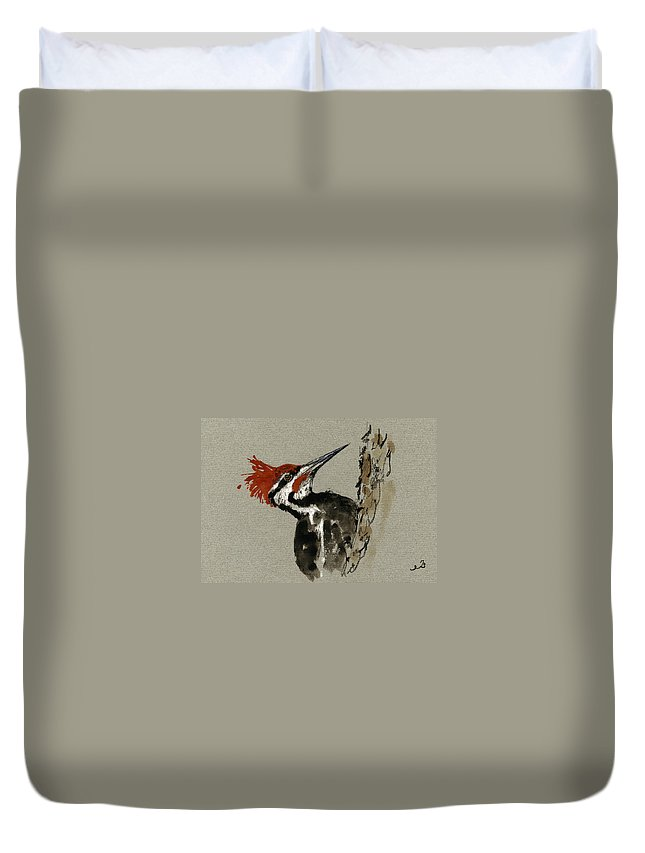 Woodpecker Duvet Covers