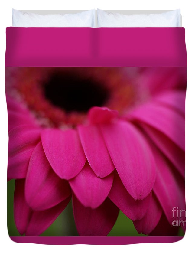 Pink Duvet Cover featuring the photograph Pink Petals by Carol Lynch