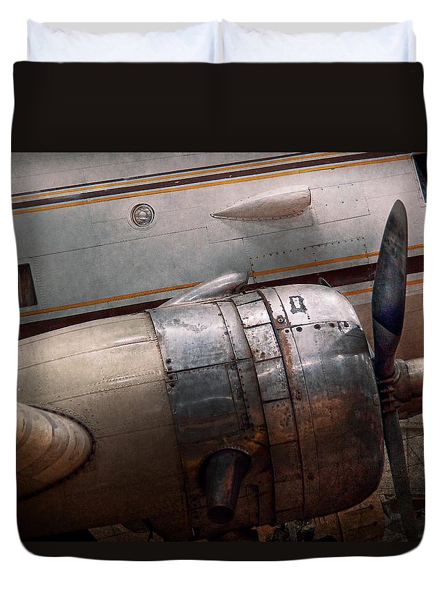 Vintage Aircraft Duvet Covers