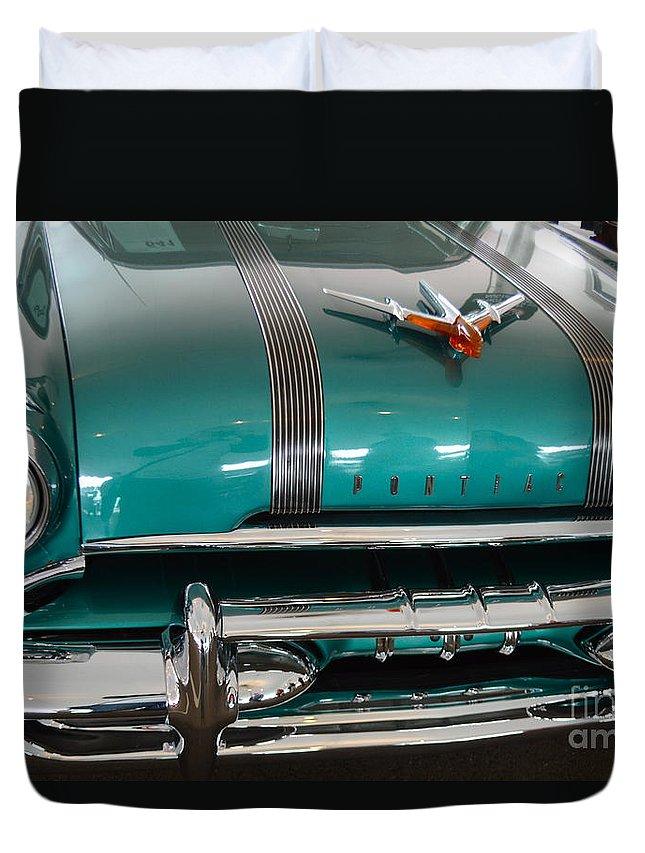 Pontiac Duvet Cover featuring the photograph Pontiac by Pamela Walrath