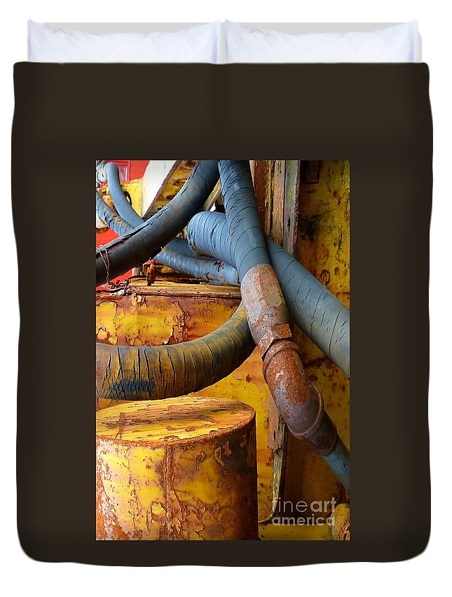 Abstract Duvet Cover featuring the photograph Prime by Lauren Leigh Hunter Fine Art Photography