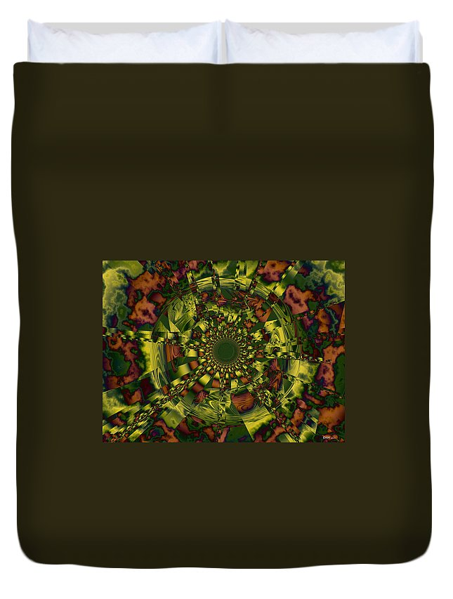 Memory Duvet Cover featuring the digital art Process Of Selective Memory by Elizabeth McTaggart