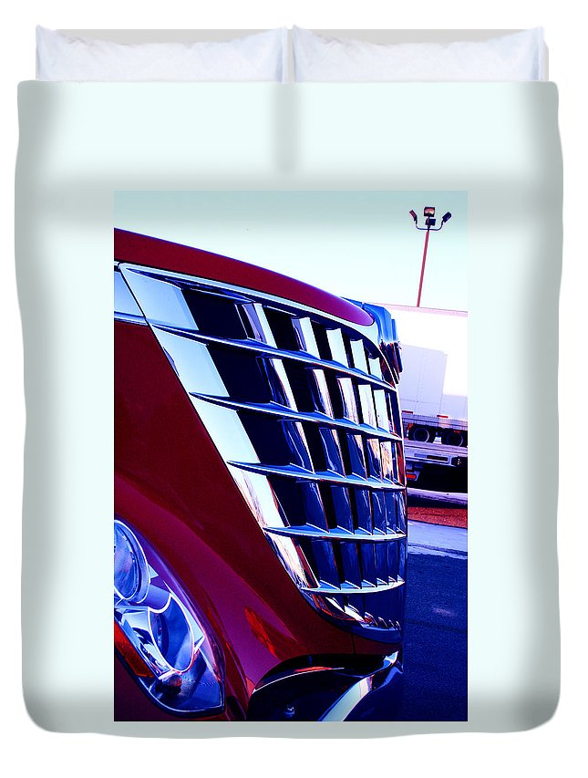 Jamie Lynn Gabrich Duvet Cover featuring the photograph Push by Jamie Lynn
