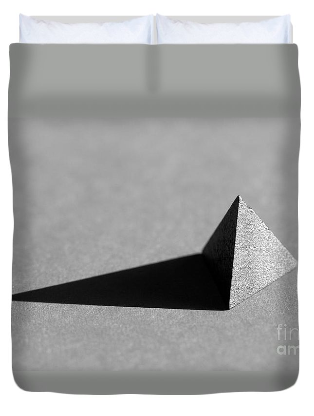 Pyramid Duvet Cover featuring the photograph Pyramid by Kenny Glotfelty