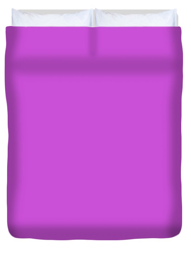 Andee Design Radiant Orchid Duvet Cover featuring the mixed media Radiant Orchid 2 by Andee Design