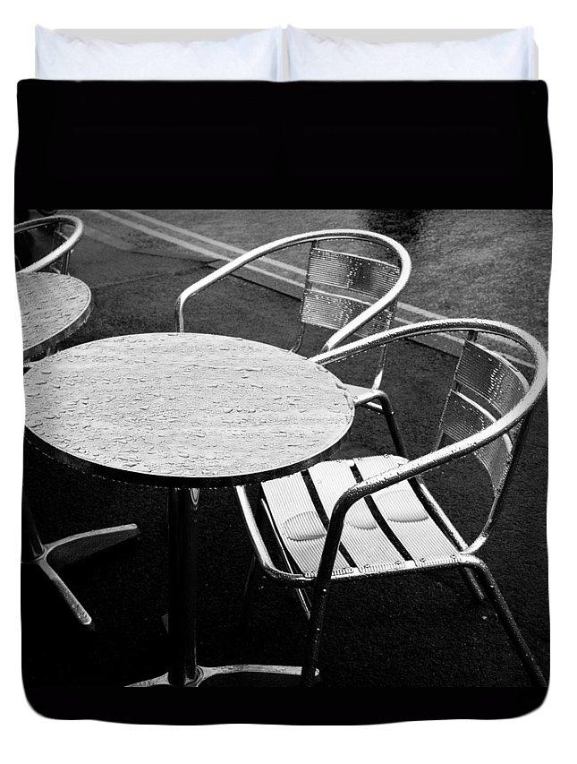 Rain Duvet Cover featuring the photograph Rain 2012 by Rachel Down
