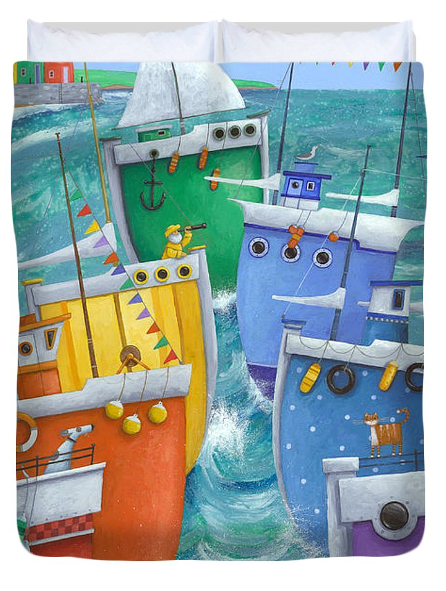 Illustration Duvet Covers