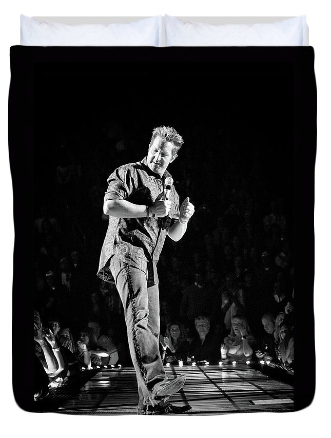 Rascal Flatts Duvet Cover featuring the photograph Rascal Flatts 5030 by Timothy Bischoff