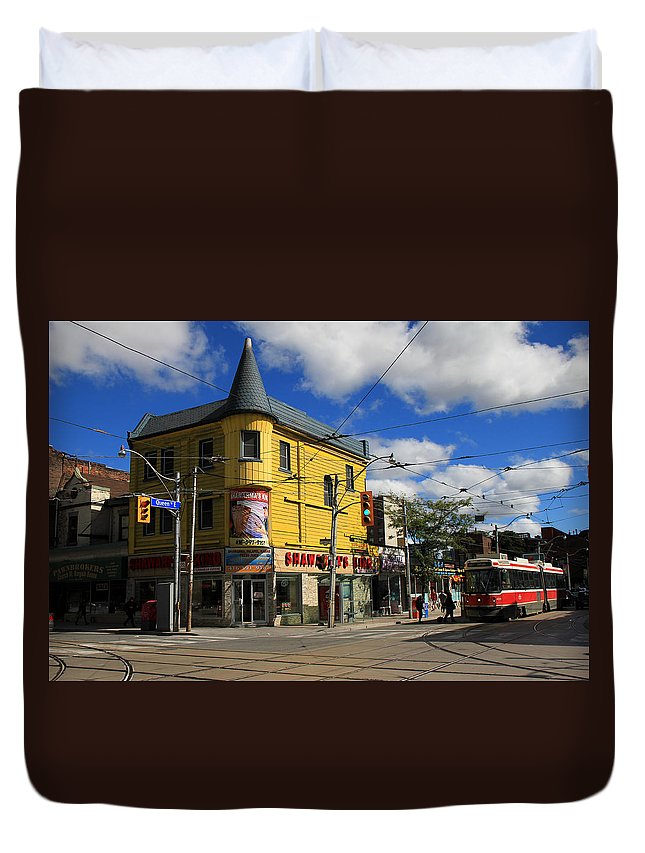 Ttc Duvet Cover featuring the photograph Red Rocket 11 by Andrew Fare