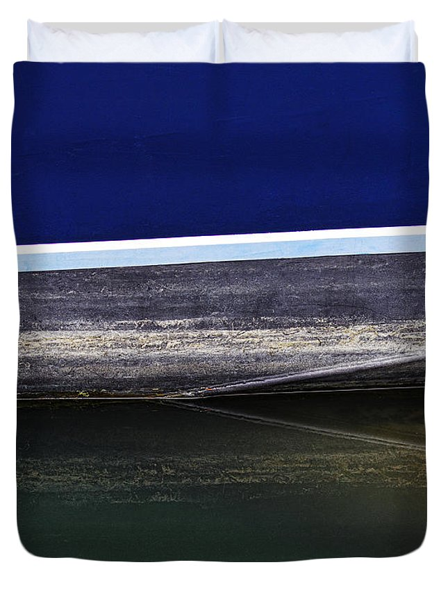 Reflection Duvet Cover featuring the photograph Reflection Number 2 by Elena Nosyreva